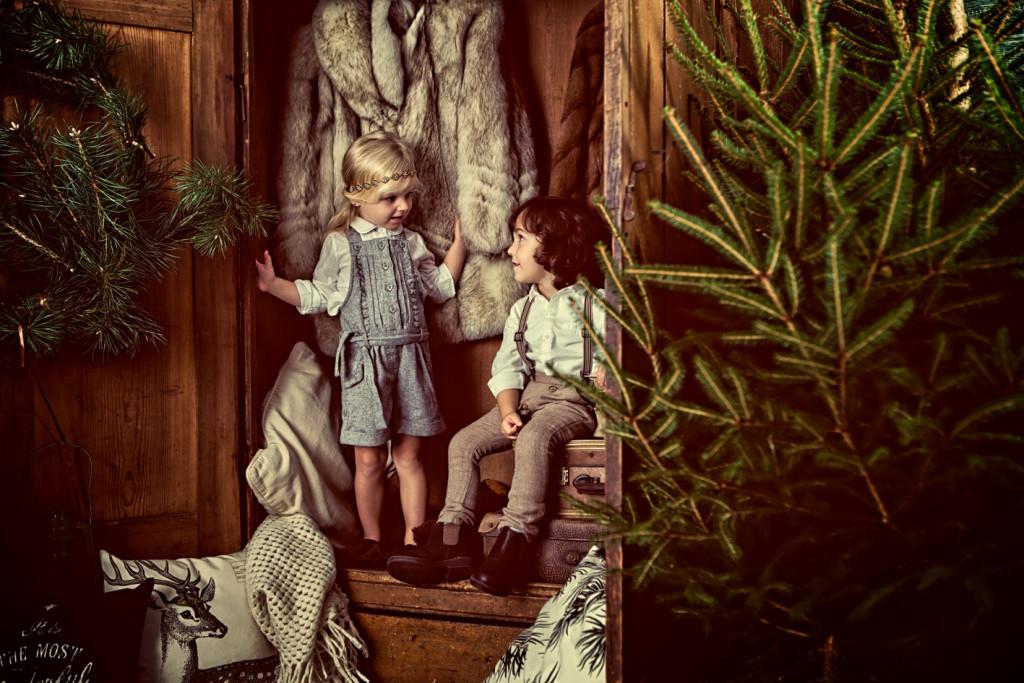 Sesja świąteczna trele morele foto
